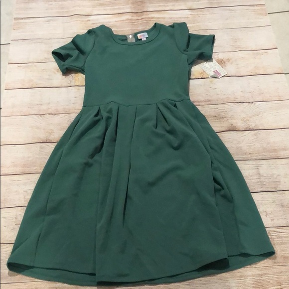 LuLaRoe Dresses & Skirts - Kelly Green LuLaRoe Amelia